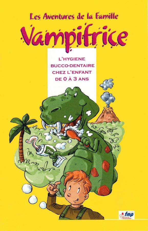 Les Aventures de la Famille Vampifrice - couverture