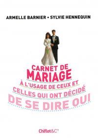 Carnet de mariage - couverture