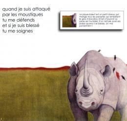 Jamais toi sans moi - Le rhinocéros et le pique-bœuf